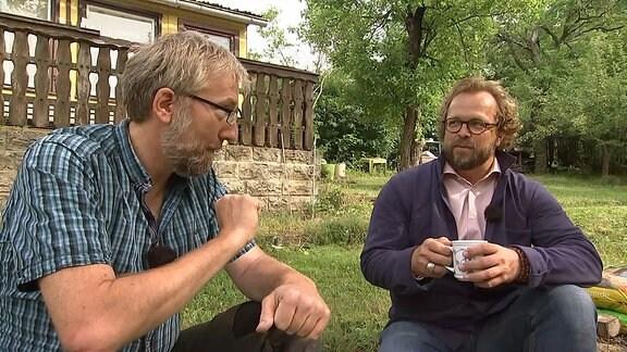 Jens Häntzschel und Jörg Heiß