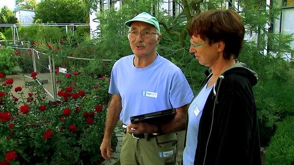 Gartenmeister im Gespräch