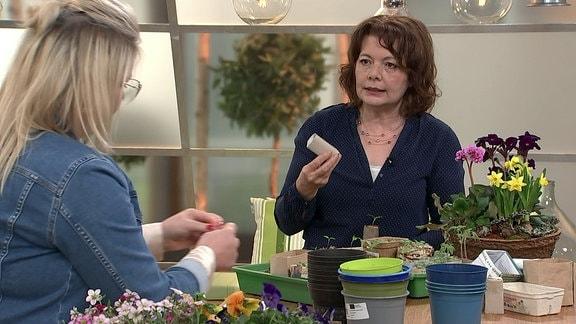 Diana Fritzsche-Grimmig im Gespräch mit Brigitte Goss