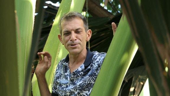 Botaniker Carlo Morici Teneriffa