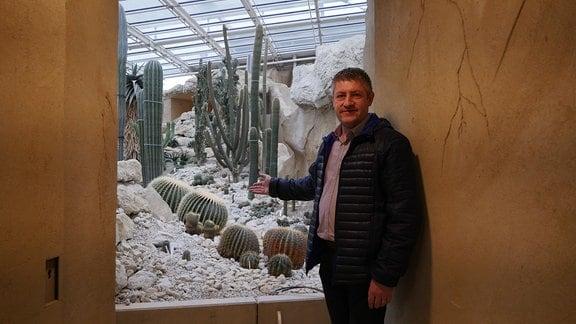 Sandro Schollmeyer im Danakil-Haus