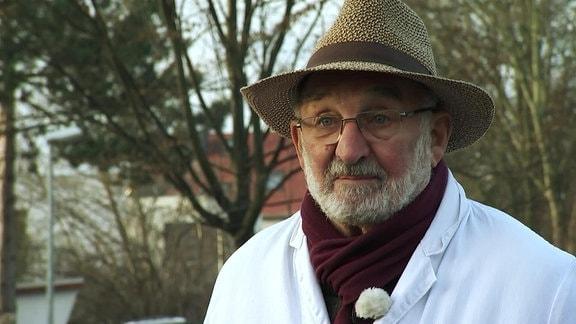 Eberhard Wetzel, Imker im egapark