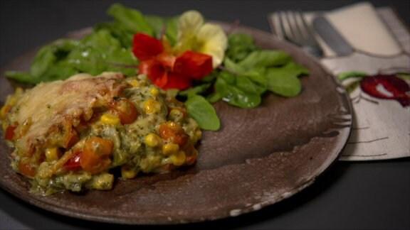 Gemüse-Lasagne zubereiten