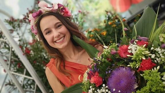 Tanja Schiller ist die  Blumenkönigin 2019.