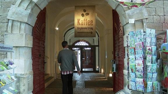 Eingangsportal zum Deutschen Gartenbaumuseum
