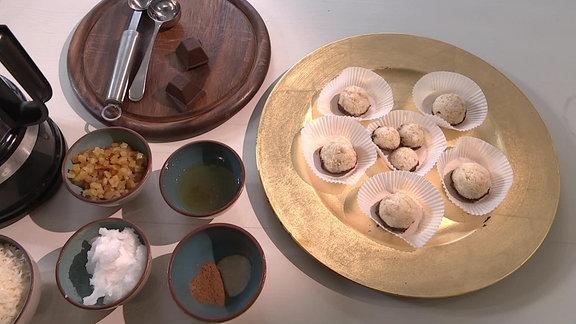 Zutaten für Kokosmakronen ohne backen