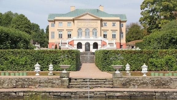 Schloss Gunnebo mit Park.