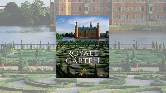 Schloss mit See und prächtiger Gartenanlage