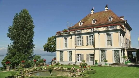 Schloss Arenenberg auf der Schweizer Seite des Bodensees