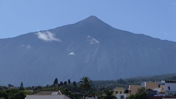 Der Berg Teide auf Teneriffa