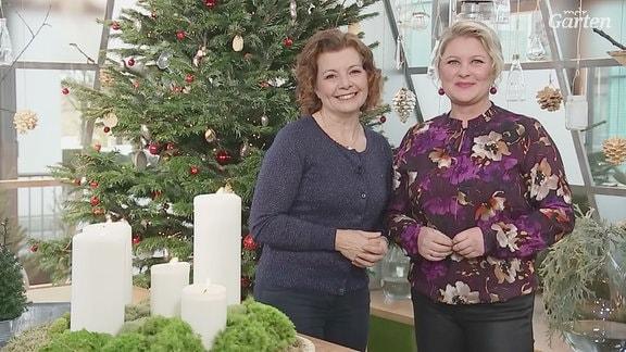 Was ist für Sie eigentlich Weihnachten? Diese Frage haben wir auch der MDR Gartenfachberaterin Brigitte Goss und Moderatorin Diana Fritzsche Grimmig gestellt.