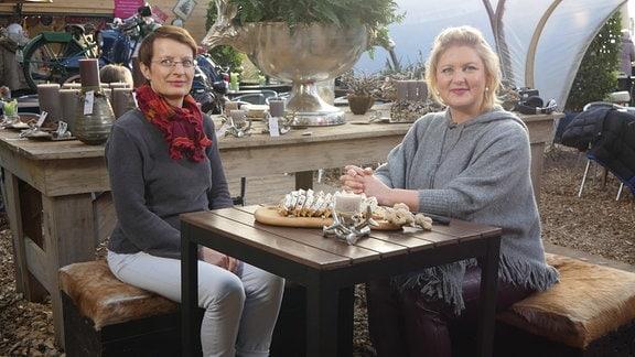 Ulrike Böhm und Diana Fritzsche-Grimmig