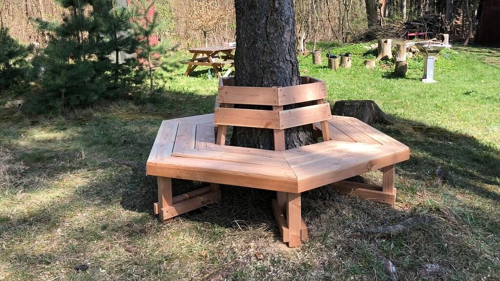 Diy Anleitung So Bauen Sie Eine Baumbank Mdr De