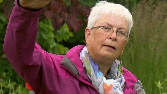 Gartengestalterin Anne Repnow