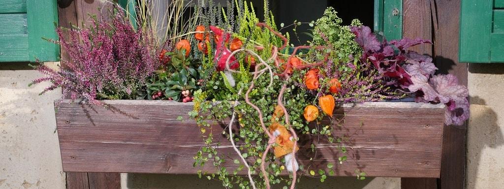 Balkon Und Terrasse Im Herbst Und Winter Mdrde