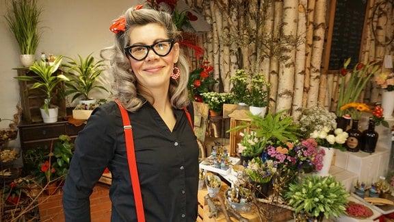 Floristin Franziska Rühle aus Ilmenau