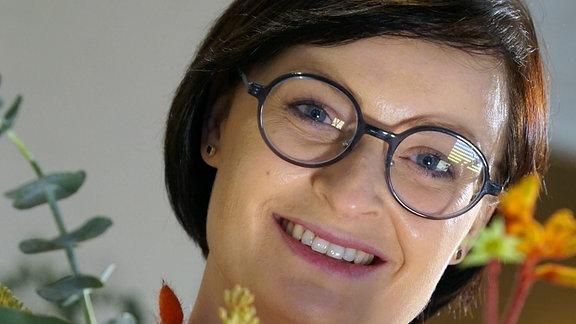 Floristin Juliane Müller aus Dresden