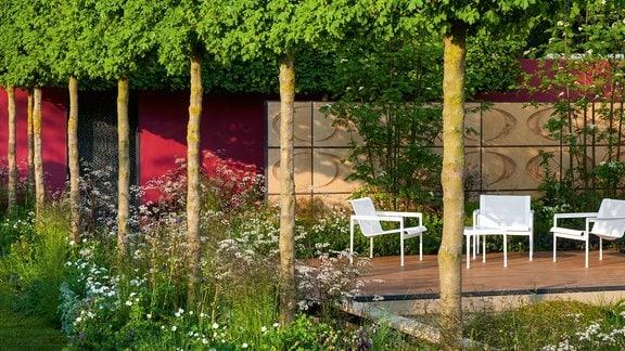 Garten gestalten Bäume