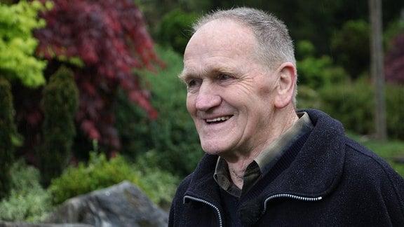 Lado Pergovnik, pensionierter Gärtnermeister im Arboretum Volčji Potok