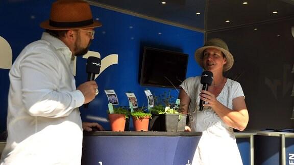 Jens Haentzschel im Gespräch mit Gärtnerin Susanne Peters