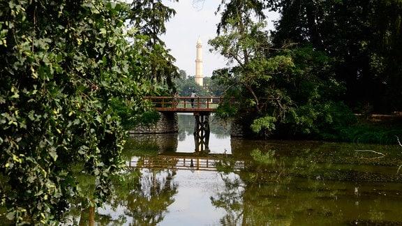 Minarett von Lednice.