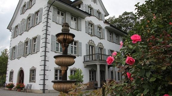 Schloss, Anwesen in einem Park