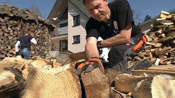 Holzmiete