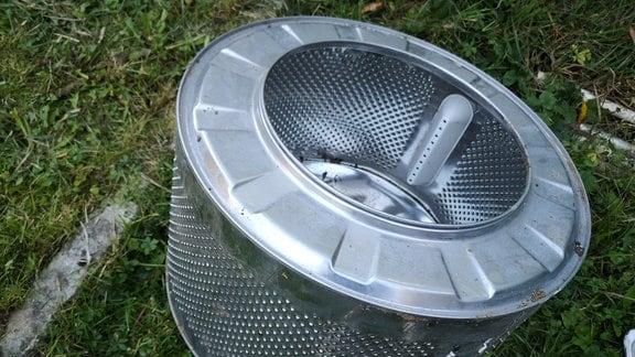 Wäschetrommel einer Waschmaschine.