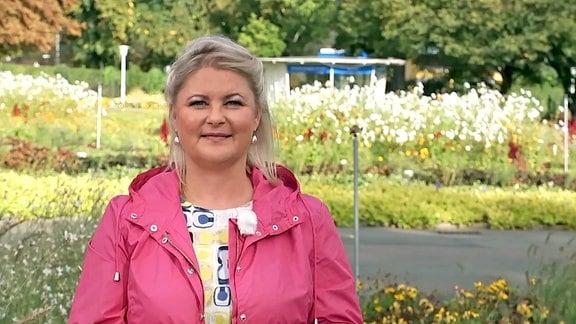 Diana Fritzsche-Grimmig im Egapark