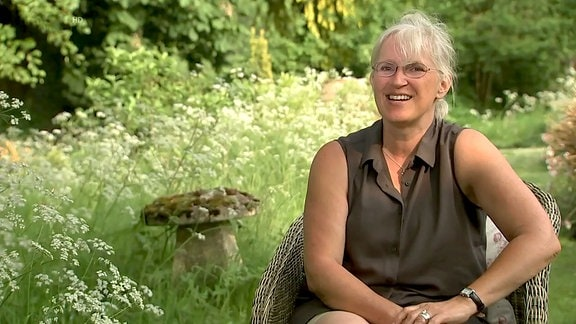 Victoria Summerley in ihrem Gartenreich