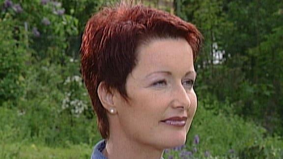 Ältere Aufnahme von Moderatorin Claudia Look-Hirnschal