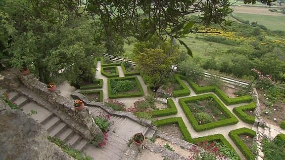 Ein Garten in Südfrankreich