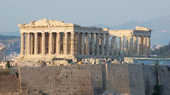 Parthenon-Tempel der Akropolis.