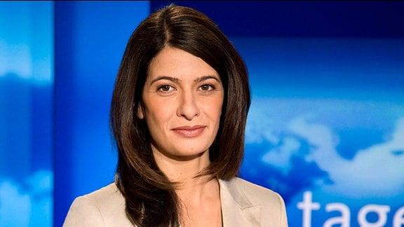 Linda Zervakis, neue Sprecherin der Tagesschau