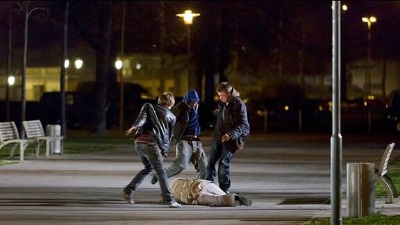 """Szenenbilder aus dem Tatort """"Todesschütze"""""""