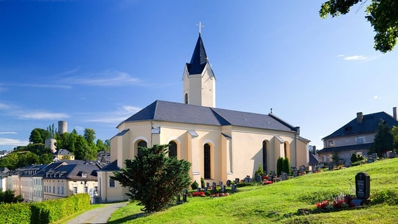 Kirche in Bad Lobenstein