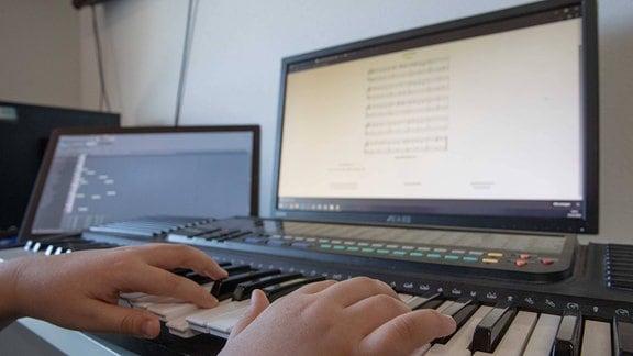 Musikschulunterricht via Skype
