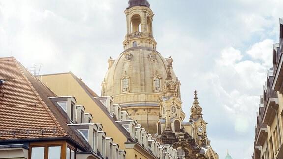 Frauenkirche in Dresden (Sachsen)