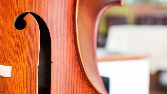 Cello, Nahaufnahme