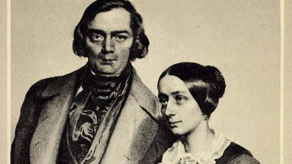 Robert Schumann und Clara Wieck