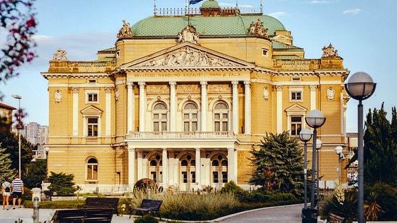 Das Kroatisches Nationaltheater in Rijeka