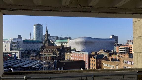 Blick über Birmingham