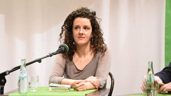 Die Autorin Franziska Hauser