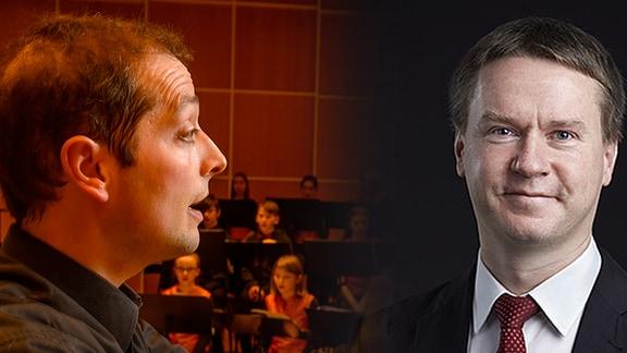 Portait von Alexander Schmitt und Frank-Steffen Elster
