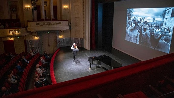 Violinist Gidon Kremer beim Lausitz Festival 2020
