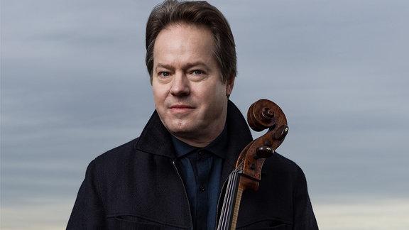 Jan Vogler mit seinem Cello