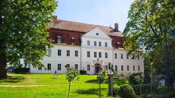 Schloss Gröditz, Weiߟenberg, Sachsen