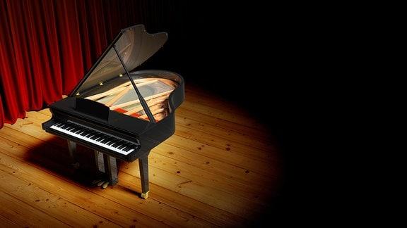 Leeres Klavier