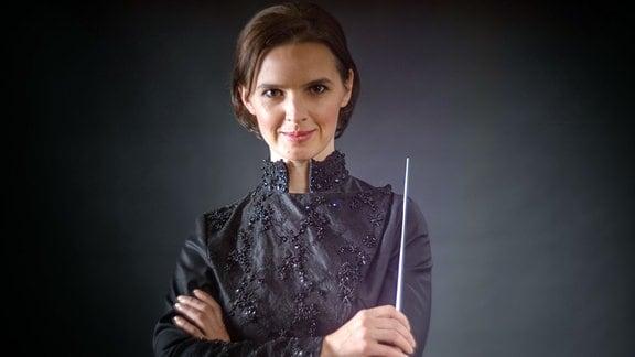 Dirigentin Oksana Lyniv
