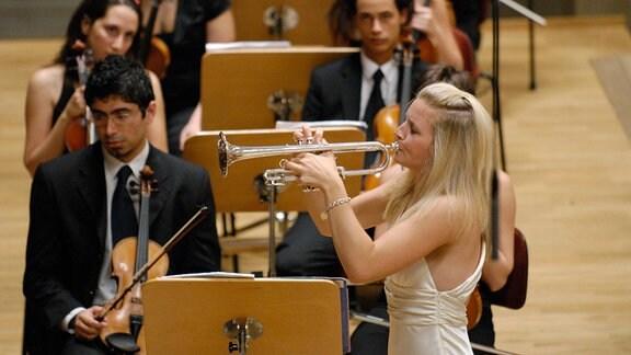 World Youth Orchestra und Alison Balsom an der Trompete, 2007